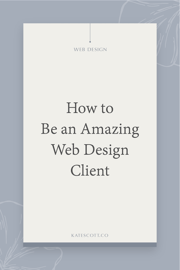 How To Have An Amazing Relationship With Your Web Designer Squarespace Designer Kate Scott,Front Cover Product Catalogue Design