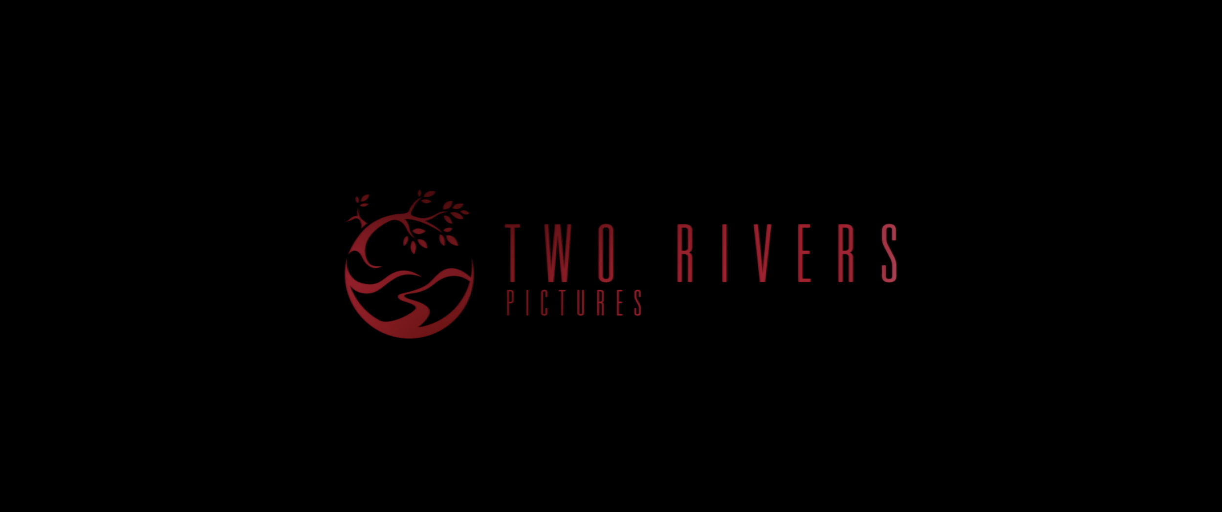 Two Rivers Pictures logo in red font, black background.png