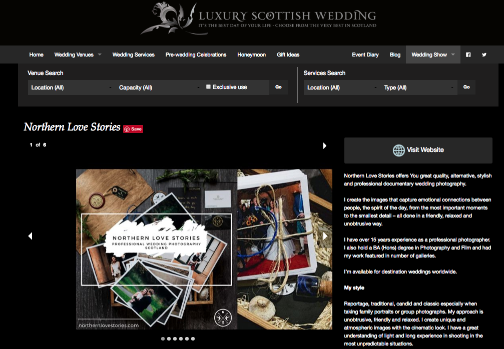 Luxury Scottish Wedding -