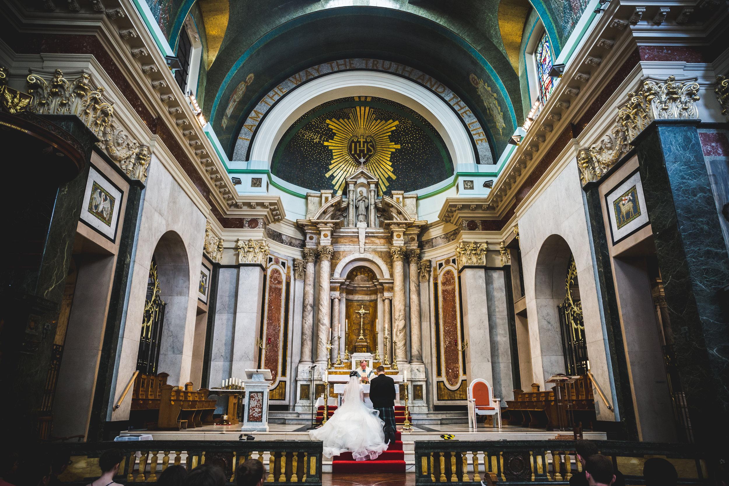 Madeline & Thomas - Aloysio Church, Glasgow