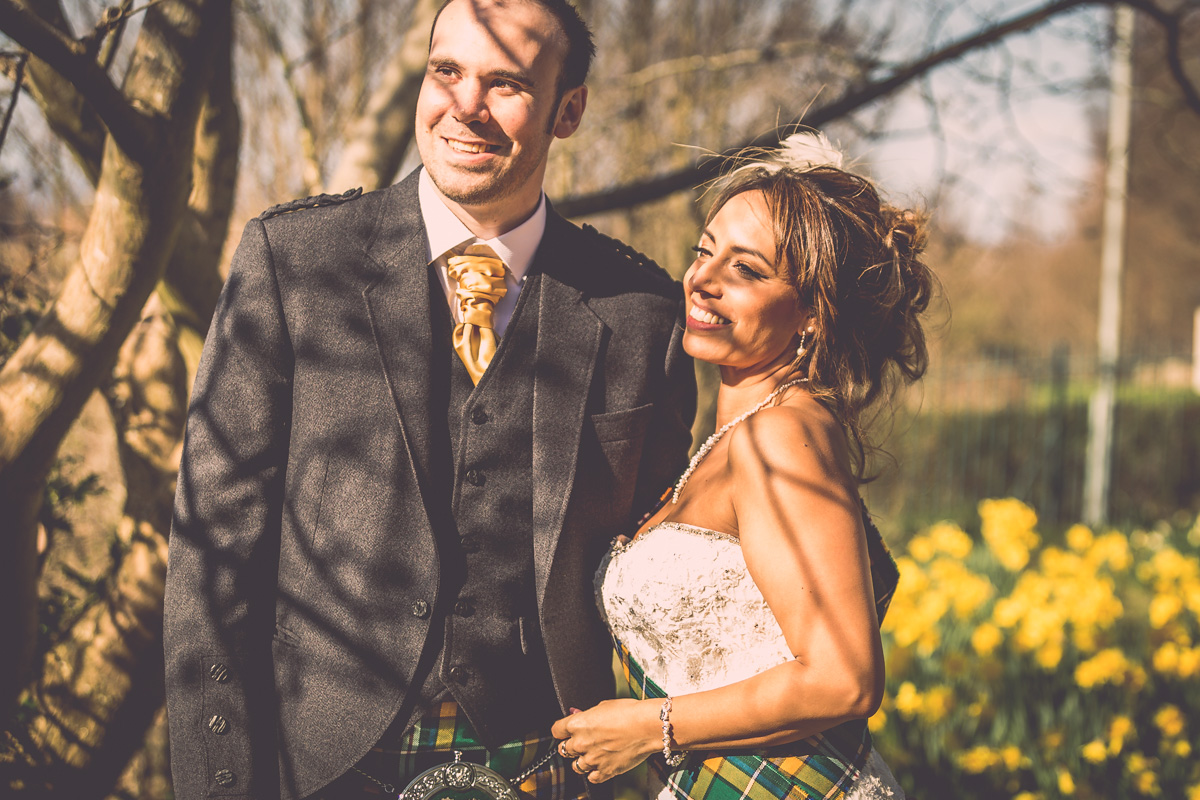 Estibaliz & Stephen - Amazing wedding at Braid Hills Hotel, Edinburgh.
