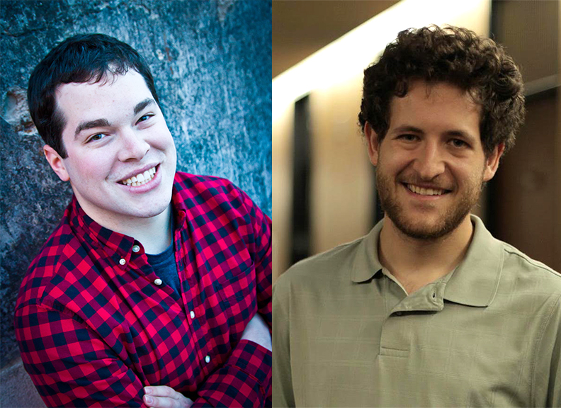 Alexander Kohnstamm (left) and Tom Coben (right) started Kobamm Productions while in college.