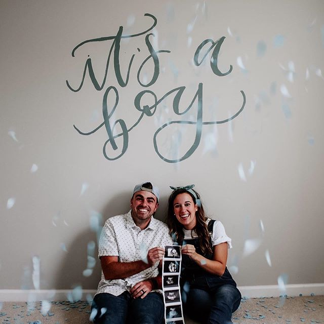 The Shiloh family is getting a sweet baby BOY and we couldn't be more excited 💙 #babyboy