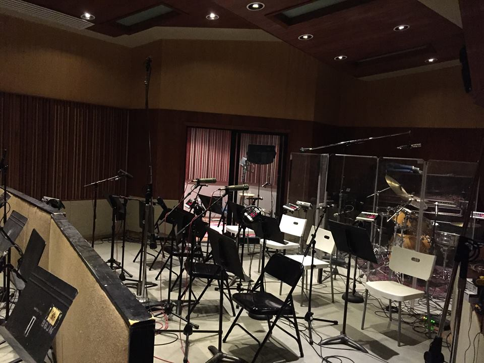 Studio recording session 05/1/2016