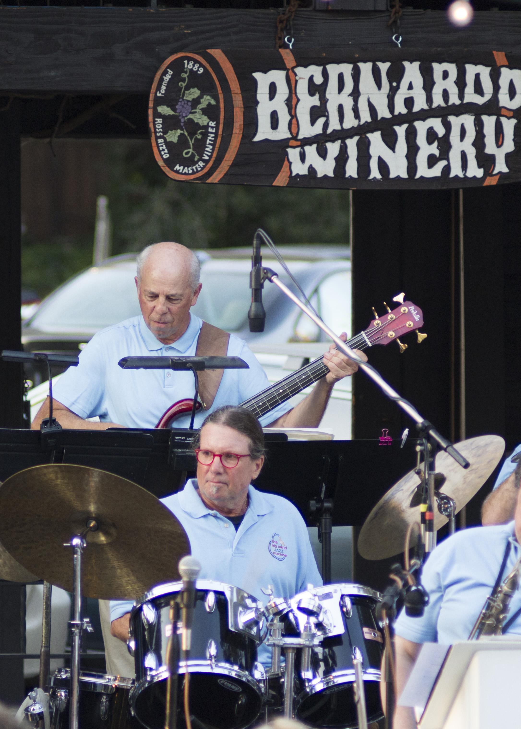Bernardo Winery August 2016