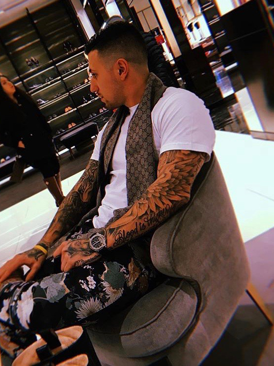 Dillon - @dillond13I've always loved tattoos and the whole atmosphere. It's become my lifestyle Although I don't actually tattoo I've made it my life by being a tattoo collector and I've dedicated my wholeBody to black and grey work. And I am also a piercing apprentice and work managing the front desk.