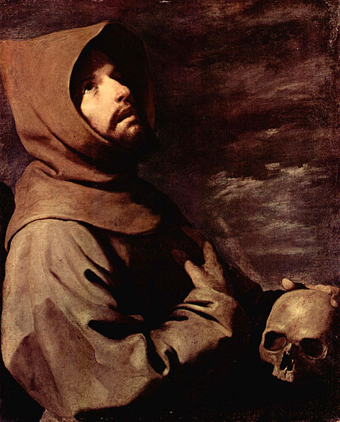 The Ecstasy of St Francis, by Zurburan