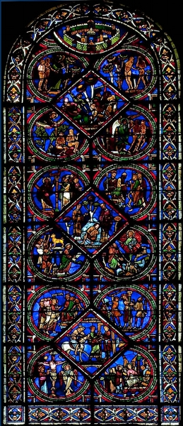 The Good Samaritan Window, Sens Cathedral