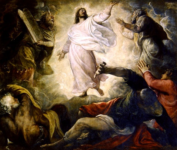 Transfiguration by Titian, Italian, 16th century.
