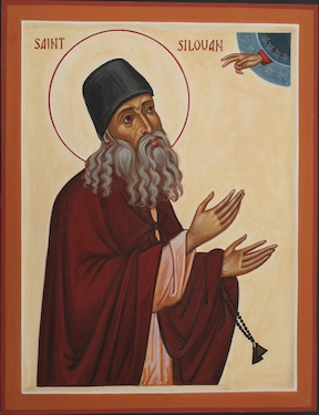 St Silouan the Athonite, by Aidan Hart