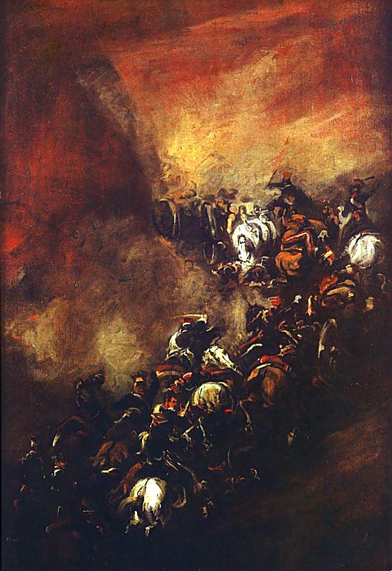 Battle of Somosierra by Piotr Michałowski