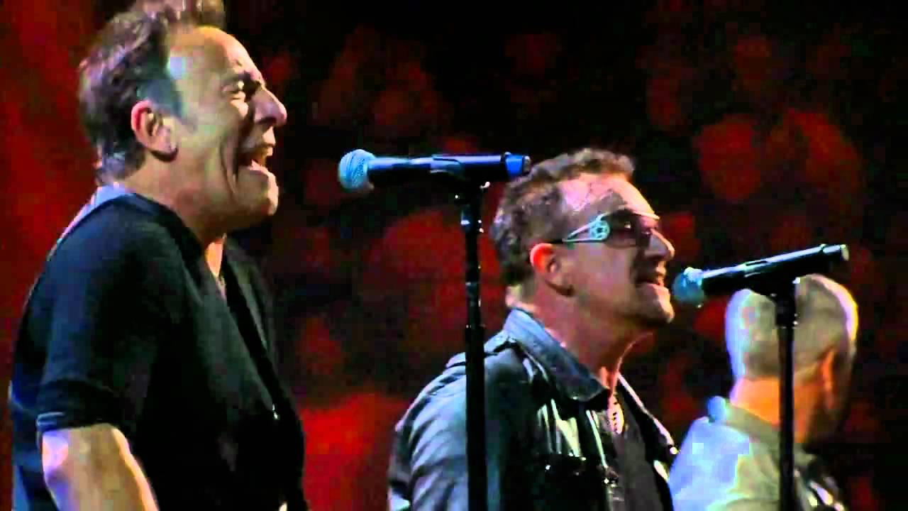 The Boss and Bono - Bruce Springsteen and Bono from U2