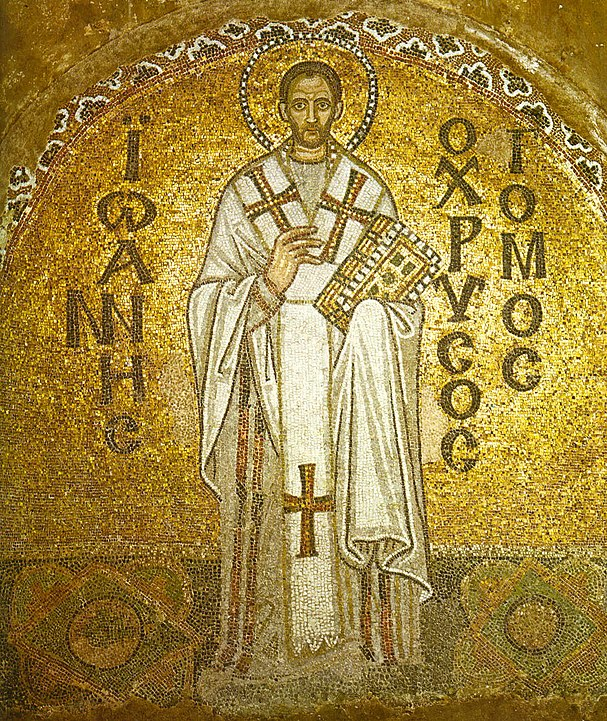Our inspiration is St John Chrysostom - 'golden mouth' - but each of us can be golden mouthed and honey tongued if we are true to our personal vocation.