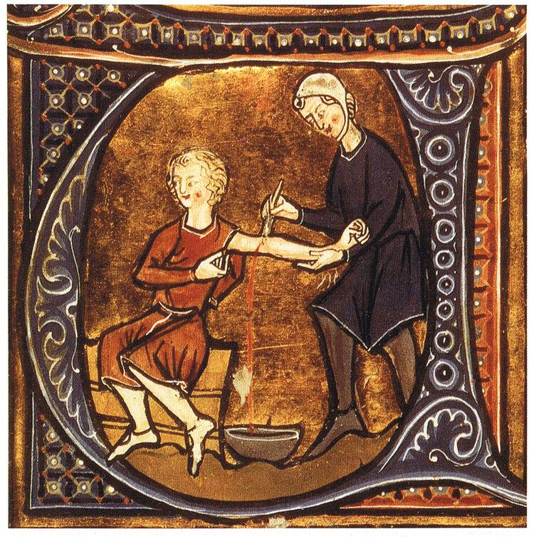 Bloed laten in de 14e eeuw. De medische wetenschap is sindsdien ongetwijfeld verbeterd, maar heeft het medische beroep het gevoel verloren hoe de hele persoon in het proces moet worden behandeld?