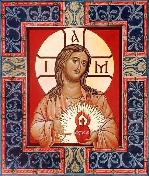 The Sacred Heart, door David Clayton, 20e eeuw. Toewijding aan het Heilig Hart geeft ons waardering voor de mensheid van Christus. Misschien, ironisch genoeg, door meditatie op het symbool van het hart als de zetel van de hele persoon, kan het ons (inclusief degenen onder ons die in de medische beroepen zijn) ook waardering voor de spirituele aspecten van de mens geven.