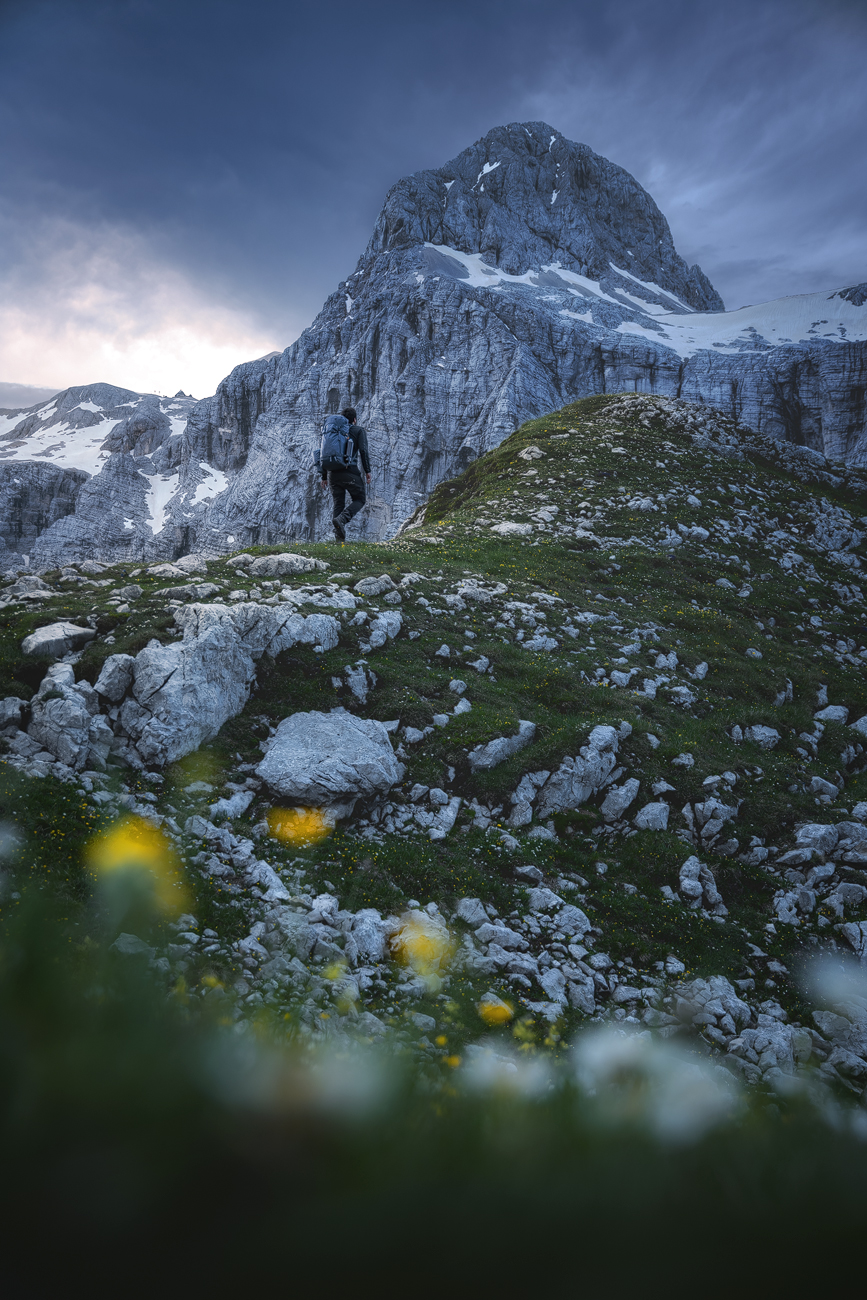 Bruno Pisani and his Explore 60 wander the beautiful mountains of Triglav National Park, Slovenia.