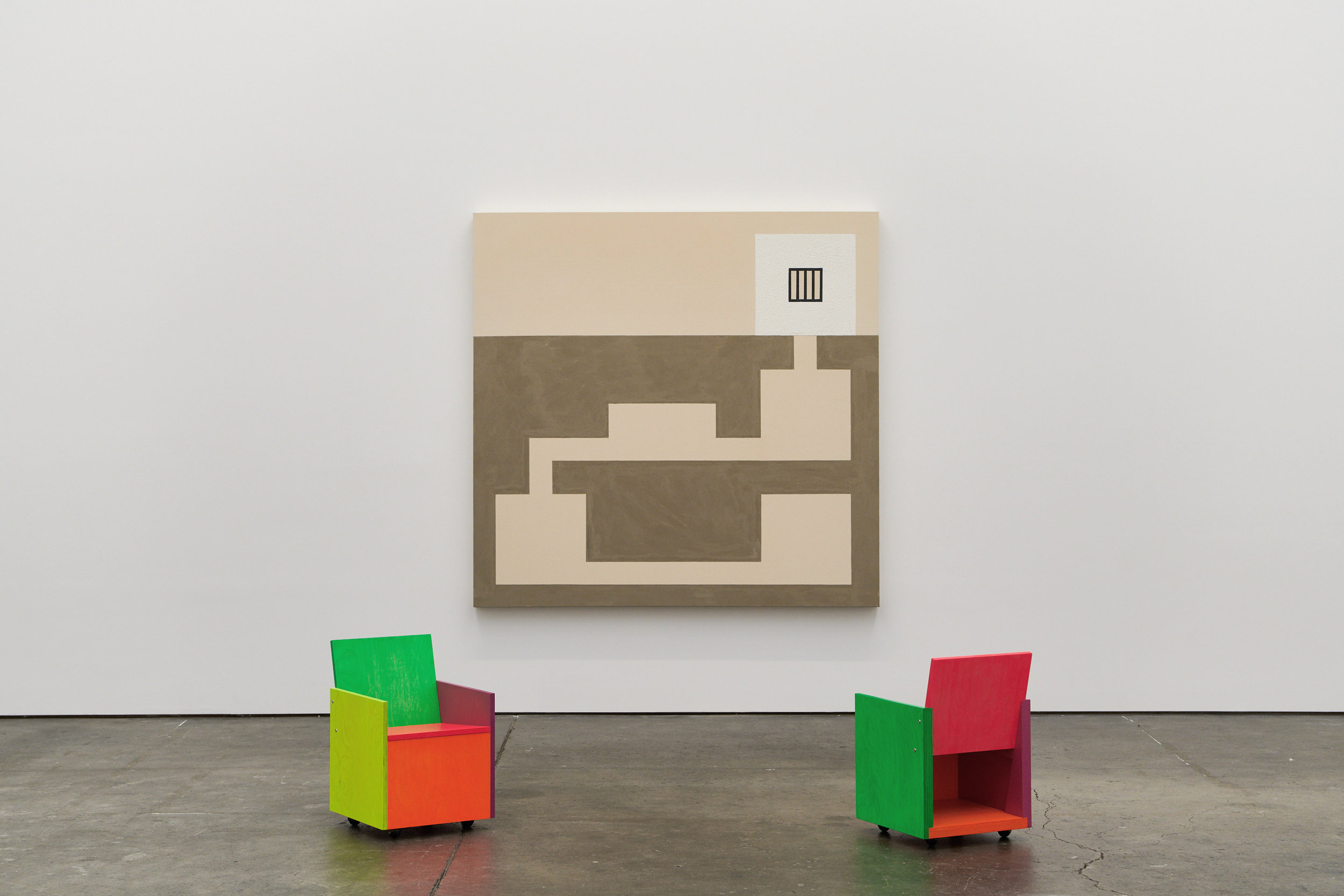 FEB 2018PETER, PAUL AND MARYAdrian Rosenfeld Gallery, San Francisco - A group show of Peter Halley, Mary Heilmann and Paul Lee, curated by Maccarone. Through March 3rd.Link.