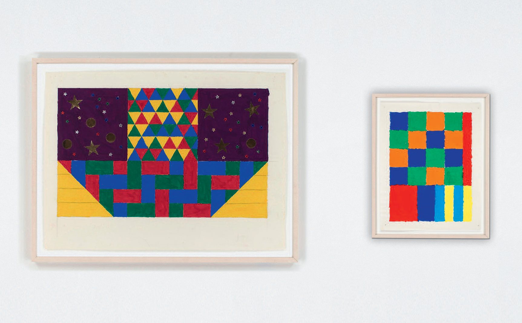 FEB 2018PETER HALLEY. PATTERNS AND FIGURES, GOUACHES 1977/78Galerie Thomas, Munich - Through April 7th. Link.