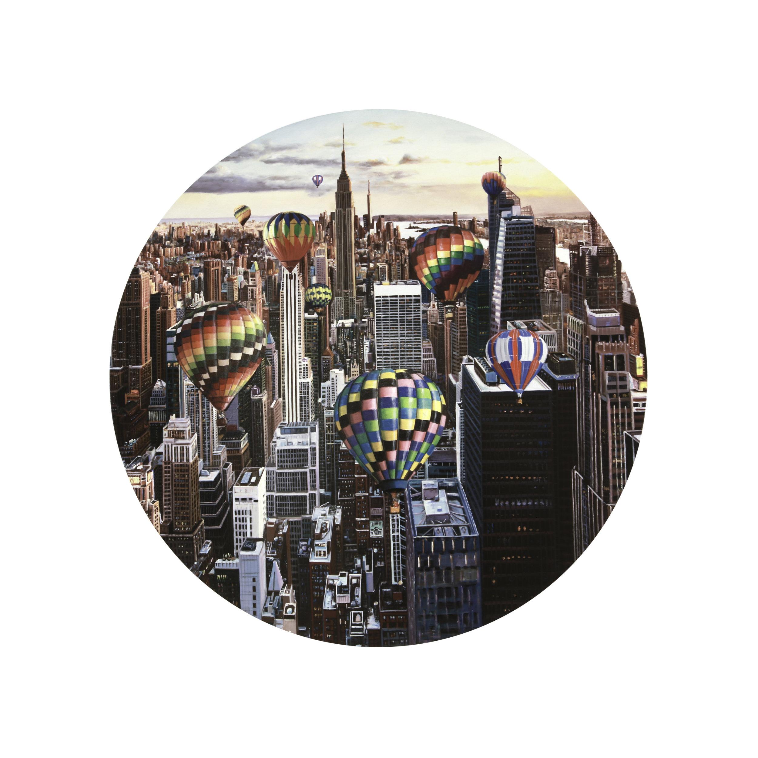 Kun, Lift Off, Hot Air Balloons New York City Empire States Building 5.jpg
