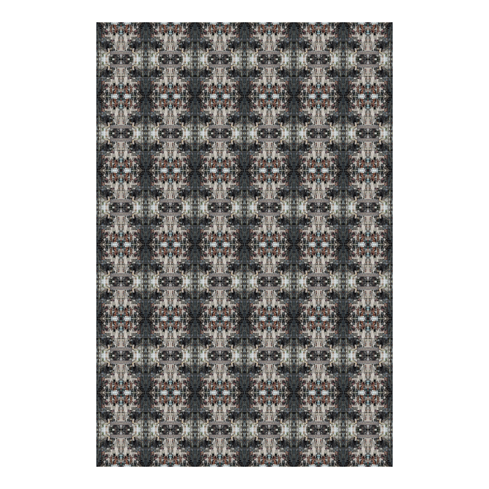Slum Carpet  2016  Polypropylene and Rubber  72 x 48 in.