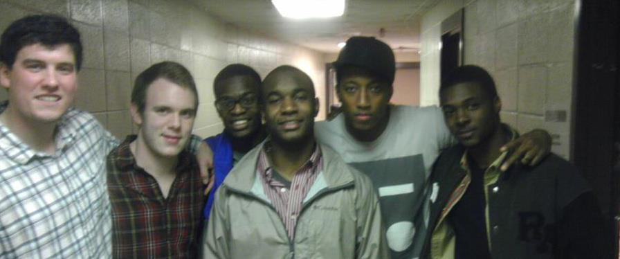 This is an old, blurry pic, but I had to share it...some of Stephen's buddies from years gone by.