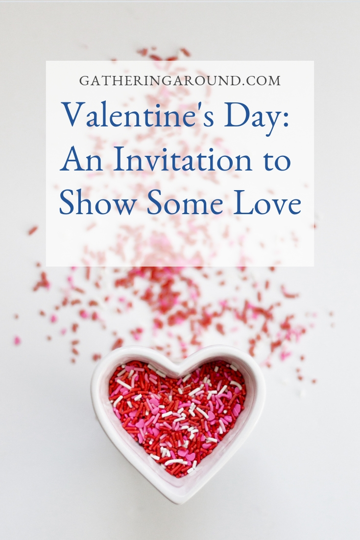 Valentine's Day and invitation to Show Some Love
