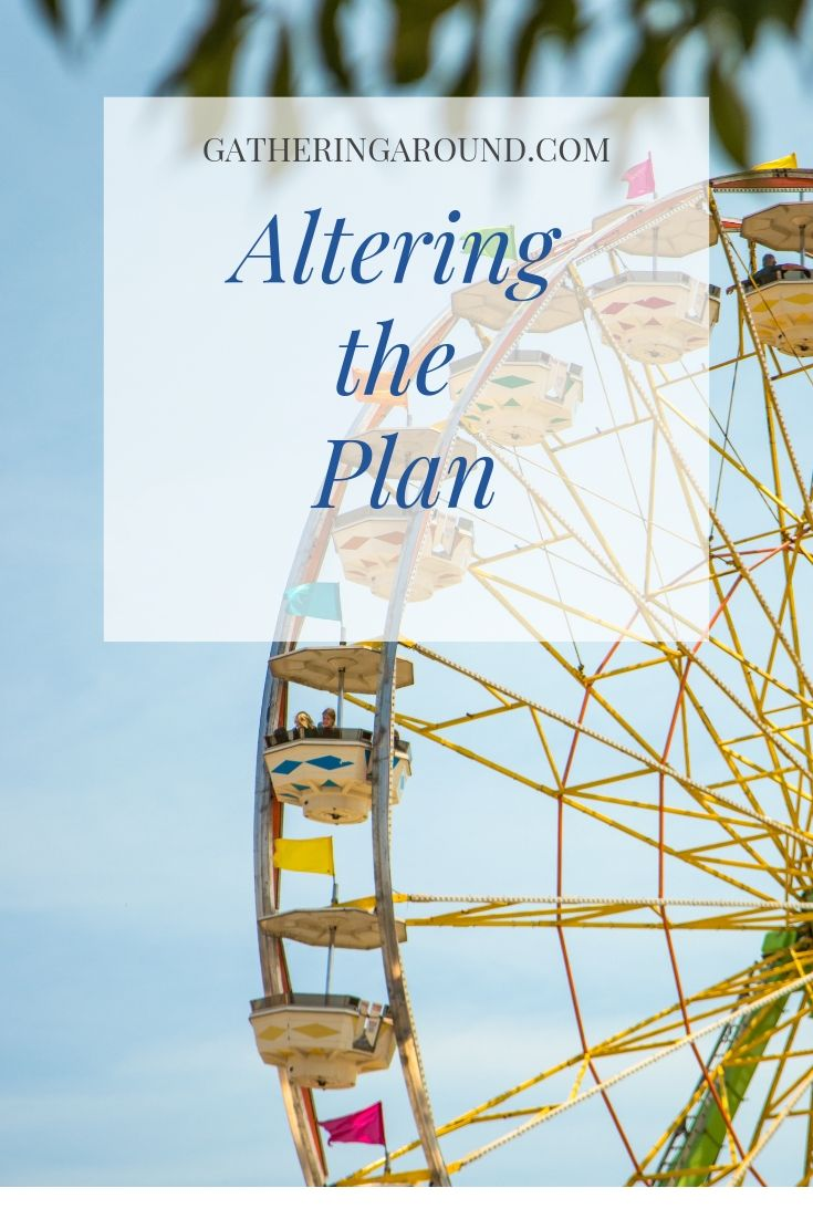 Altering the Plan