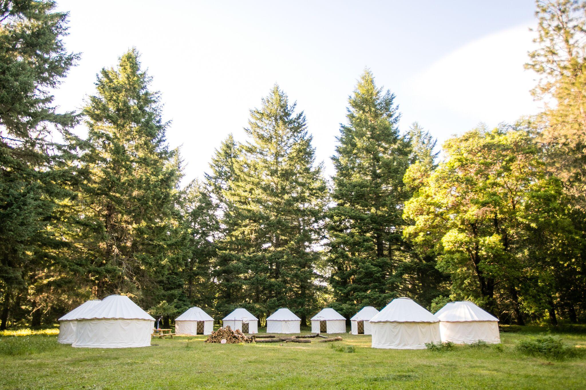 Yurts- 12', 16', 20', 24'
