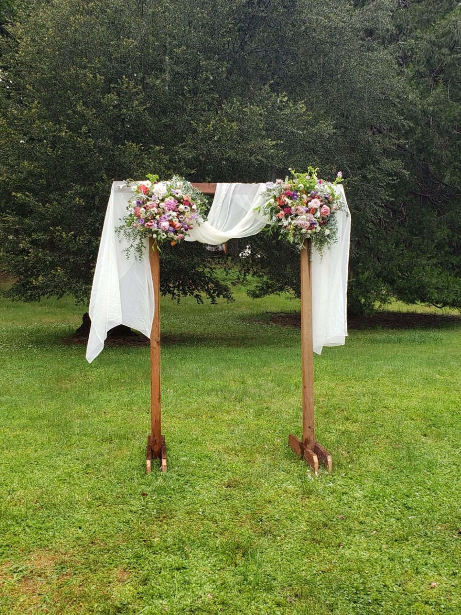Small moveable Wedding Arbor