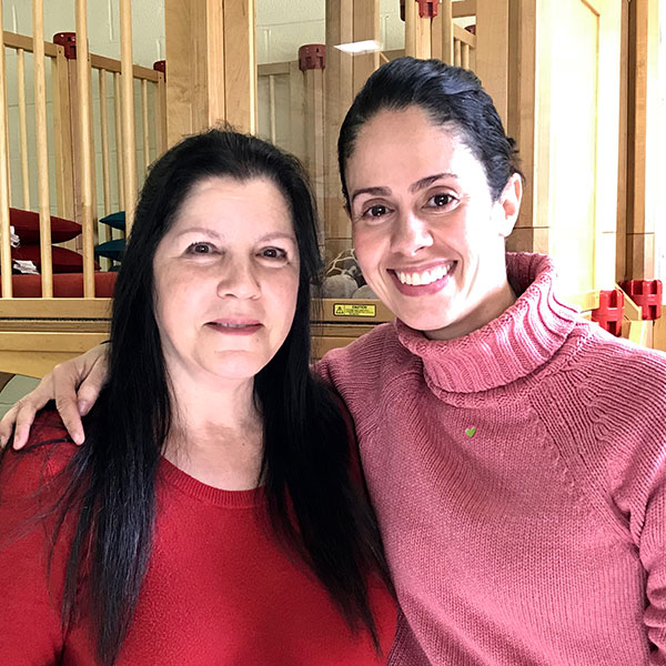 <b>Greenville Church Nursery School: </b><br>Debbie Gaeta and Melissa Raymond