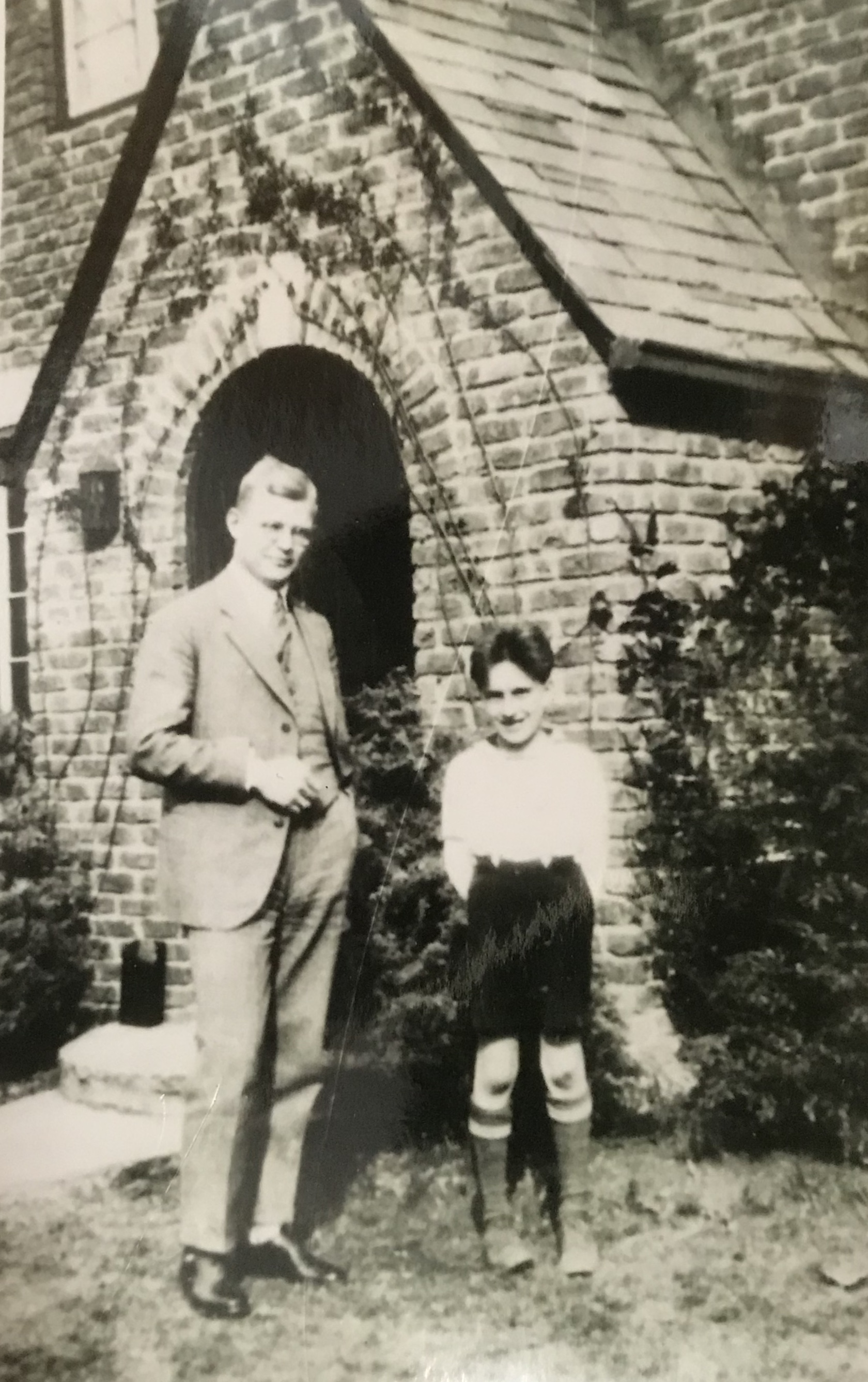 Dietrich Bonhoeffer and young Richard Ern