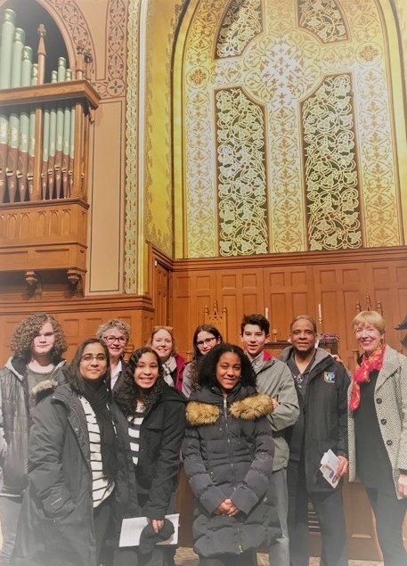 Youth Trip to Middle Collegiate Church