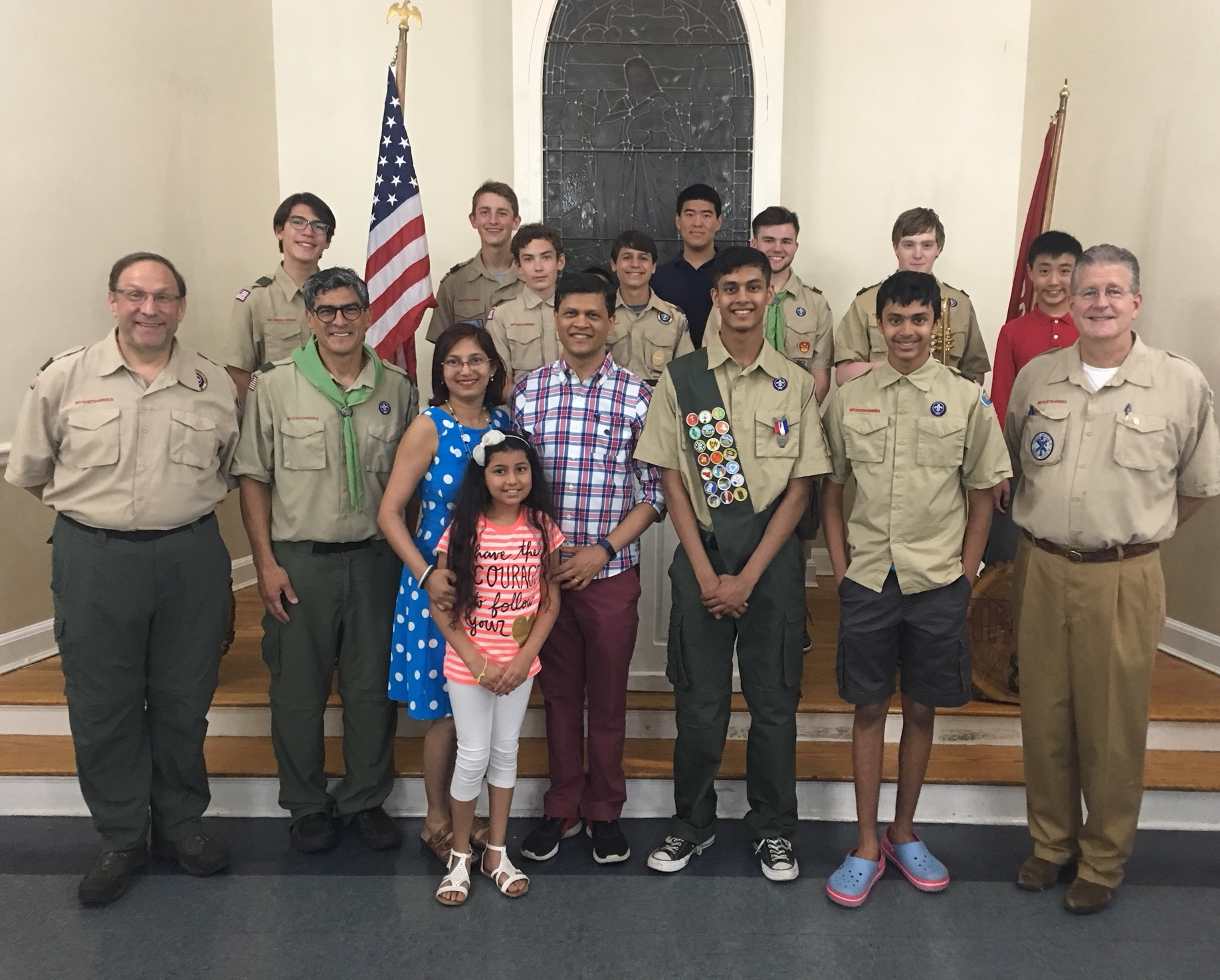 One of Five New Eagle Scouts!