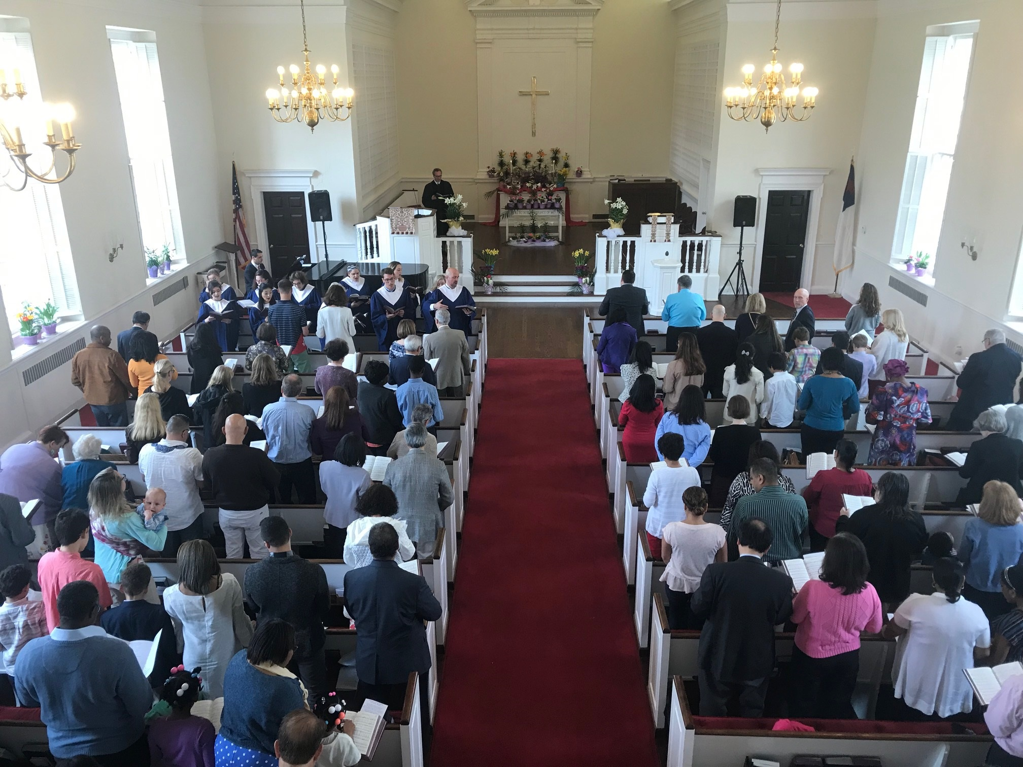 Sunday Worship in the Sanctuary