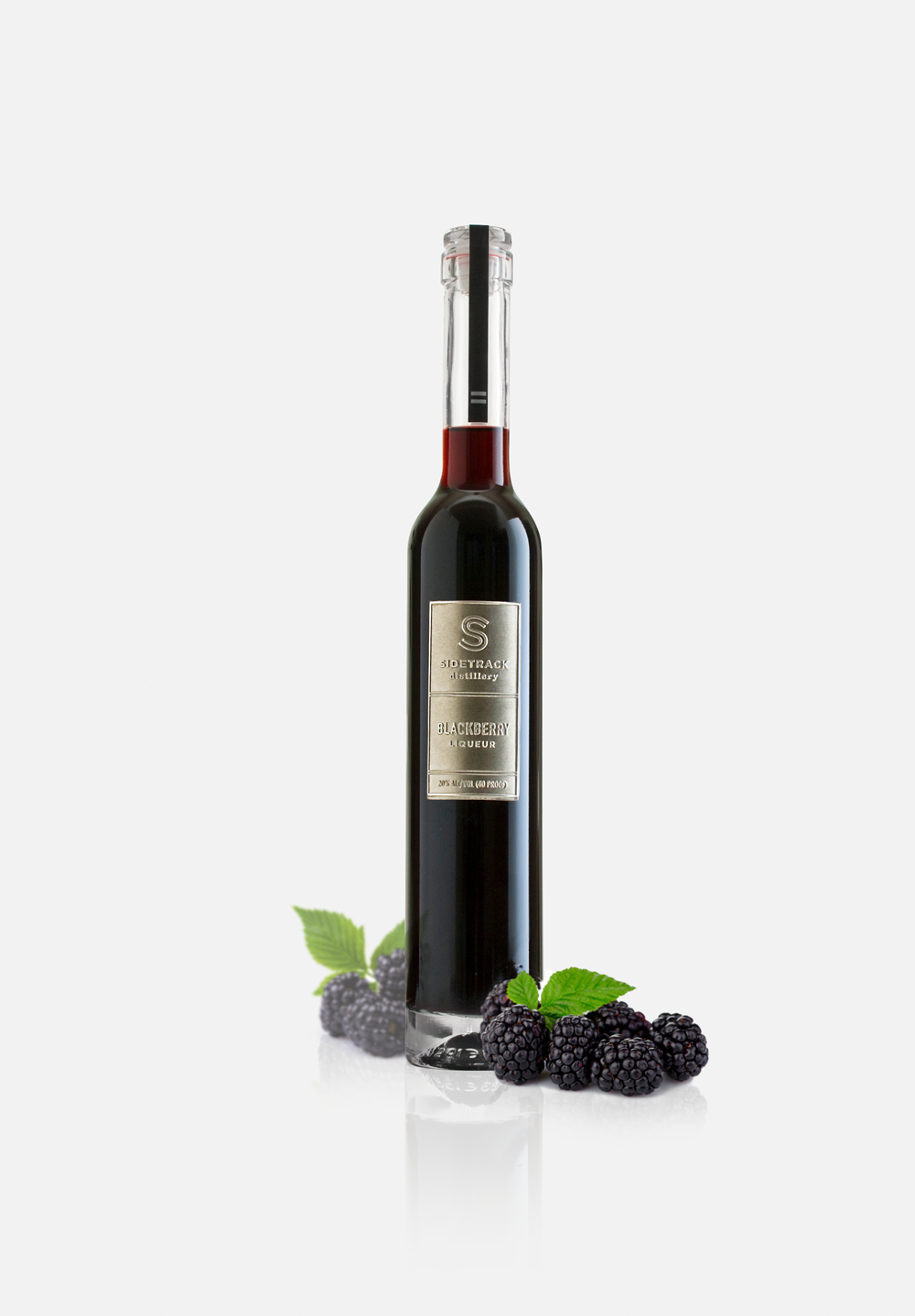 Blackberry Liqueur - Cool summers with plenty of moisture teases this magical berry into its most flavorful form.  Just a hint of pepper and a full berry taste that's not too sweet makes for a delicious cordial, a dark and stormy kir or the mysterious dark star in a host of cocktails.
