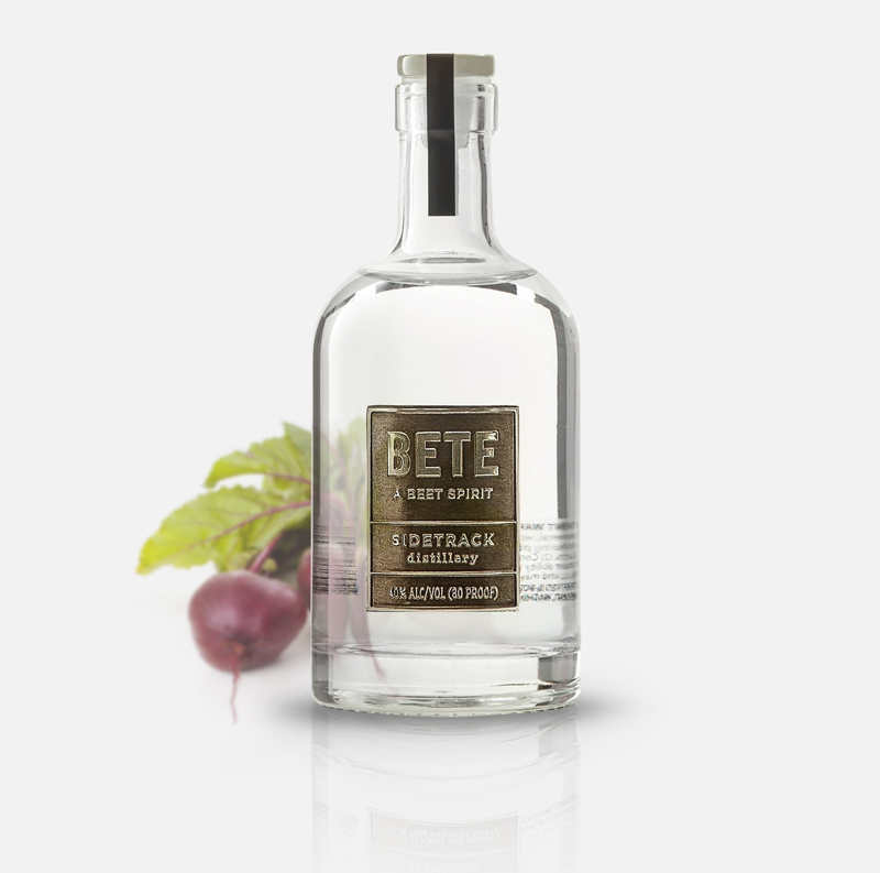 BETE (A Beet Spirit) - Pronunciation: betNorwegian translation: beetFrench translation: beastSidetrack Distillery translation: a spirit distilled from beetsA truly earthly spirit with the aroma and taste of roasted root vegetables.