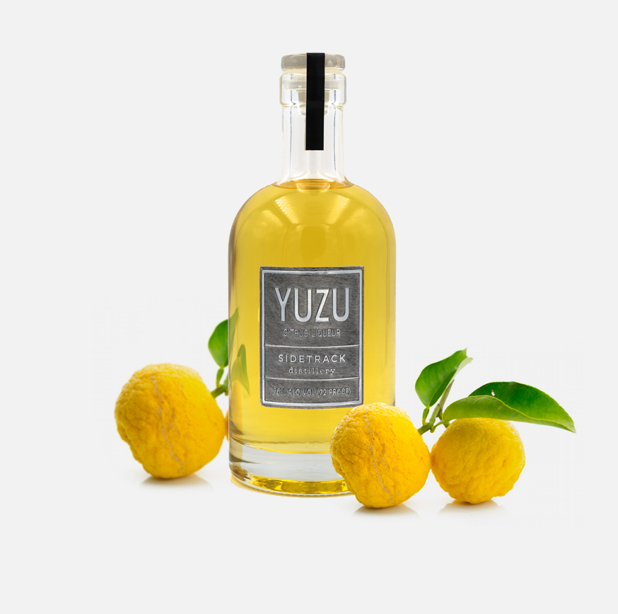 Yuzu Liqueur - With a heavenly aroma this delightfully subtle citrus liqueur will awaken any cocktail but is essential for Asian inspired libations.  The yuzu fruit is ubiquitous in Japan and will become a favorite spirit in every bar.  Try it neat or as a staring support to aromatic citrusy cocktails.