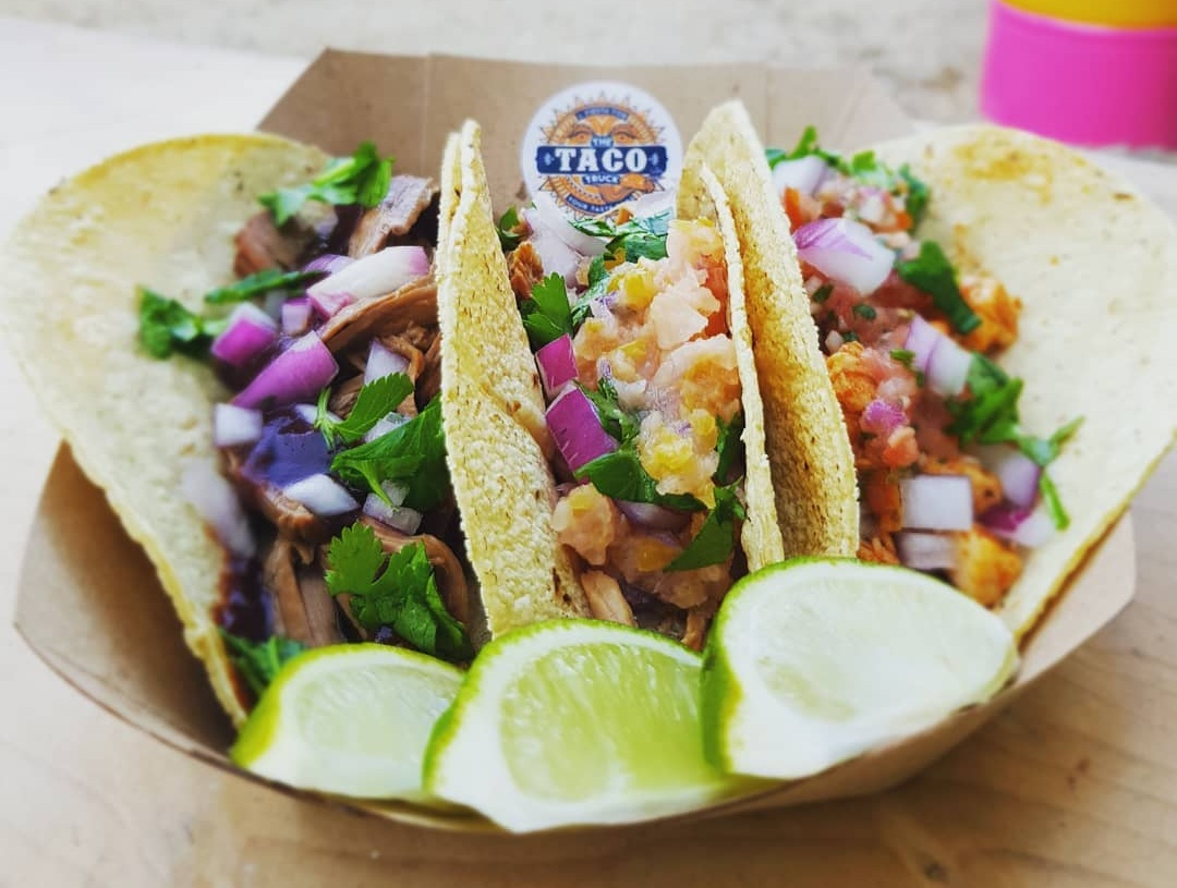 3 Tacos for €10 - Feel free to mix and match flavours