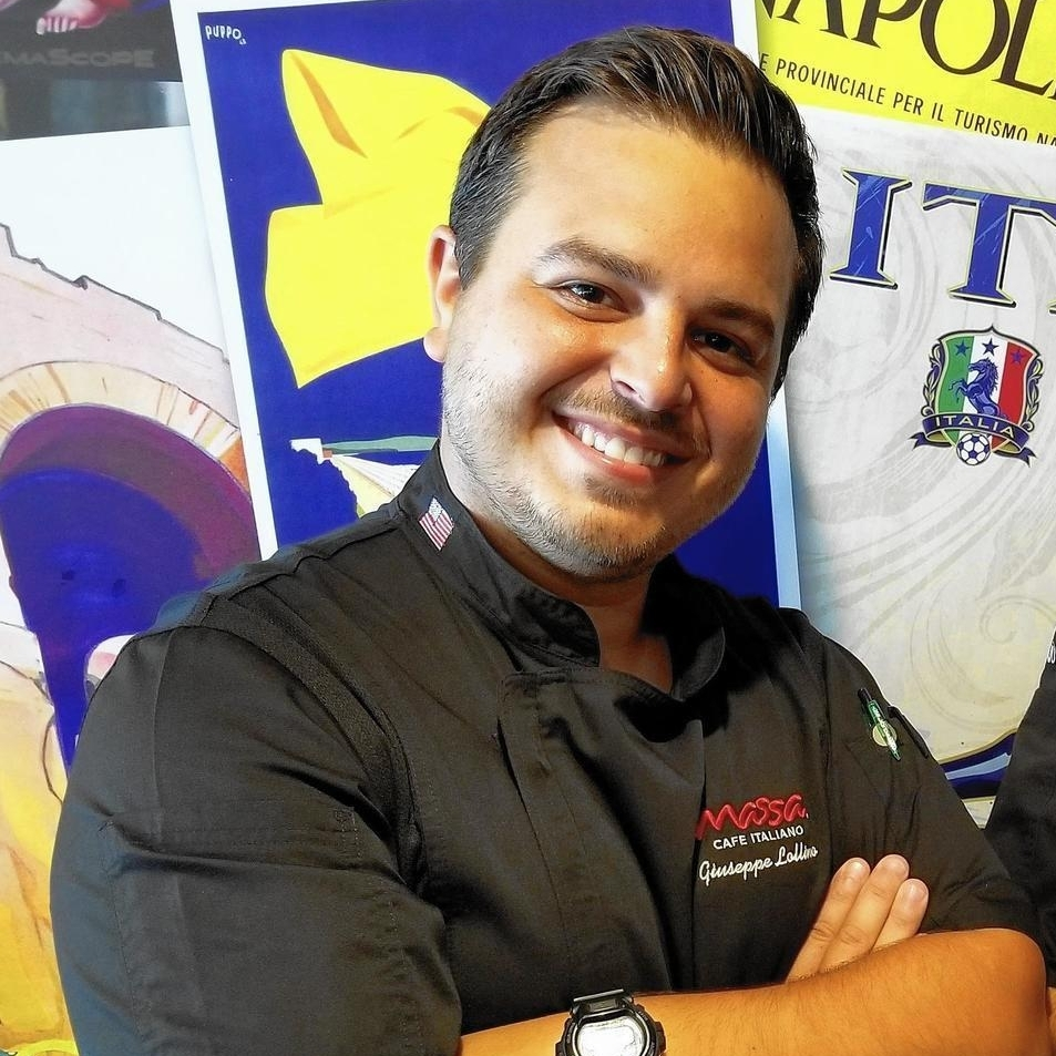 Joey Lollino - A graduate of Kendall College, Joey earned his degree in 2016 for Hospitality Management. He was recruited by Aramark and managed concessions and hospitality at popular Chicagoland venues, including First Midwest Amphitheater, Huntington Bank Pavilion at Northerly Island and the Allstate Arena. Joey enjoys working in the food-service industry as well as cooking at home.Favorite Gelato: Coconut
