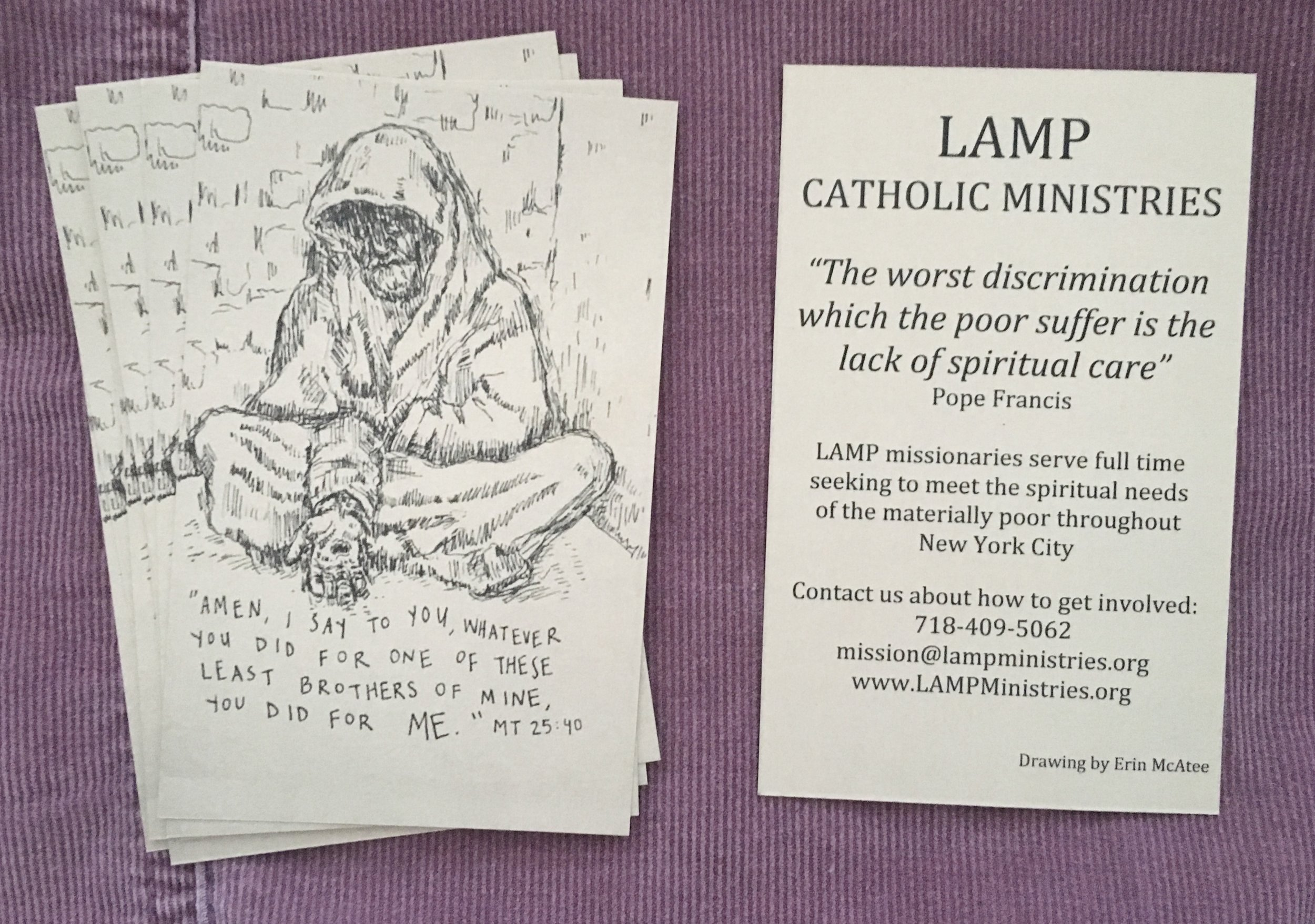 Light Apostolic Minstries of the Poor commission / Bronx NY