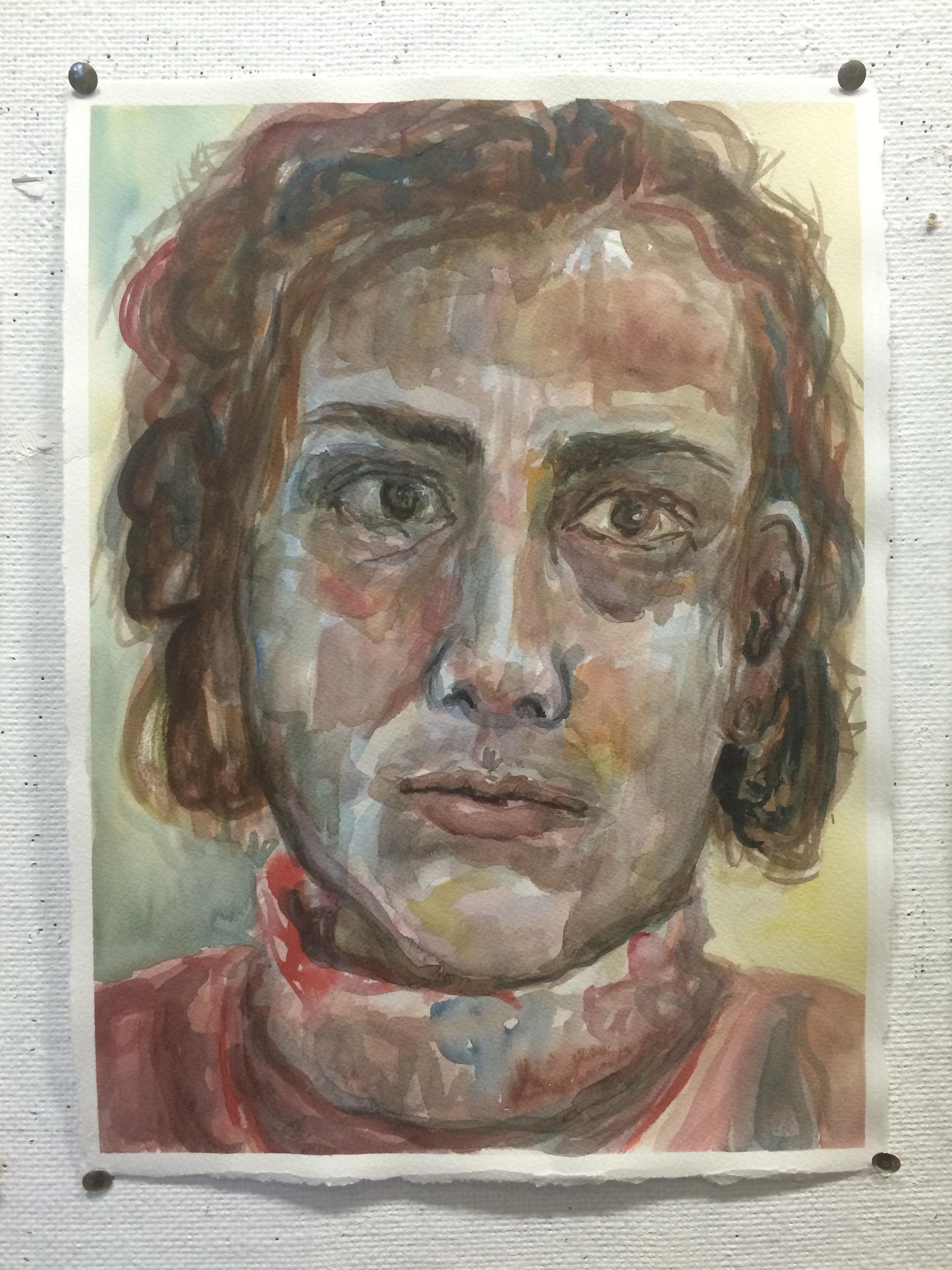 Self-Portrait (Women's Household series)