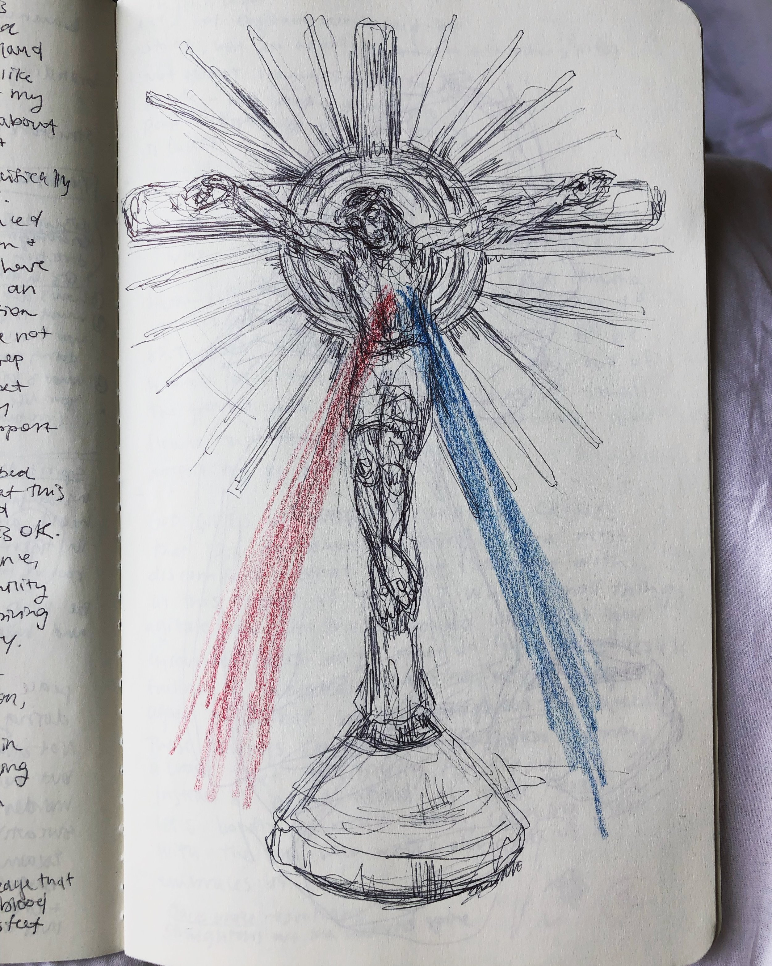 Divine Mercy Crucified Monstrance