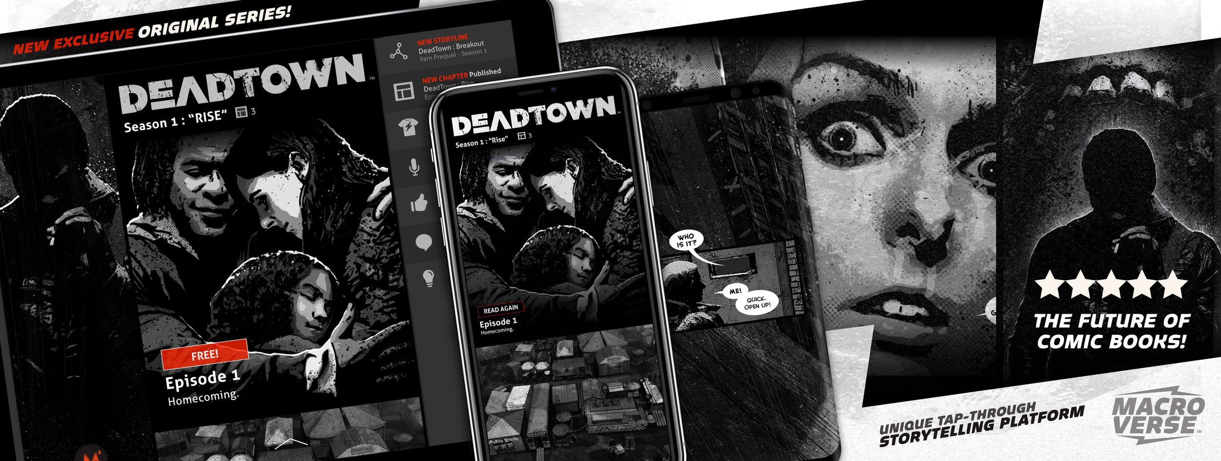 Macroverse Screenshots and DeadTown Art
