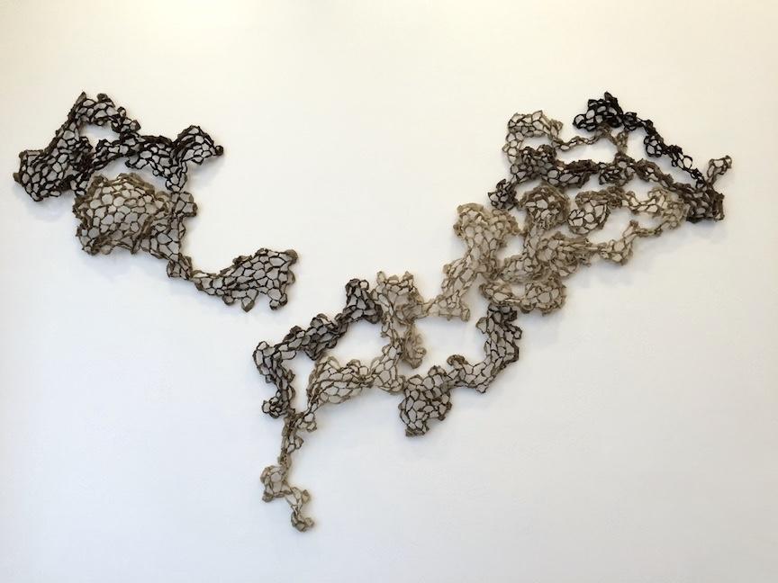 "handmade paper  60""x108""x6""  2016"