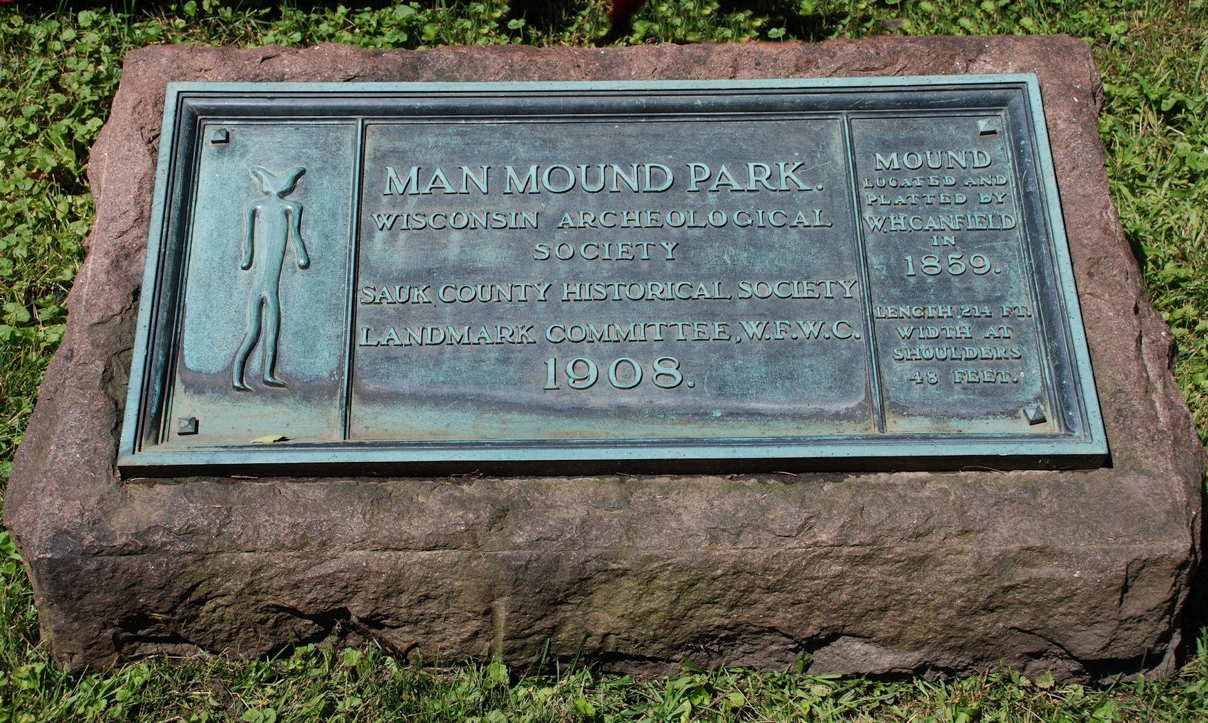 1908 plaque