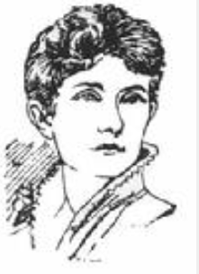 When Nettie Snyder, seen here in a sketch from the St. Paul Daily Globe, studied voice in Florence, Italy, in 1891, she left her new husband behind.