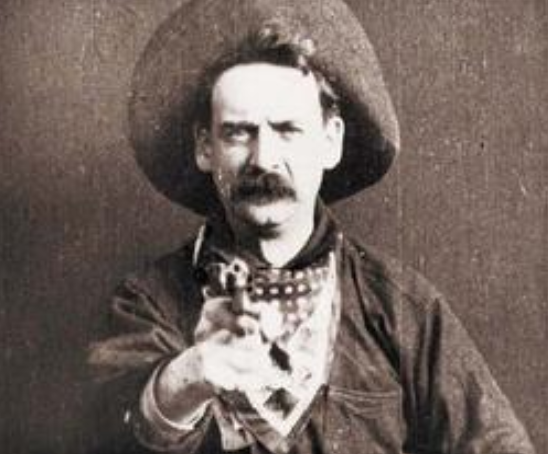 At the end of the film, The Great Train Robbery, a cowboy aimed his gun at the audience and pulled the trigger, frightening many movie-goers.