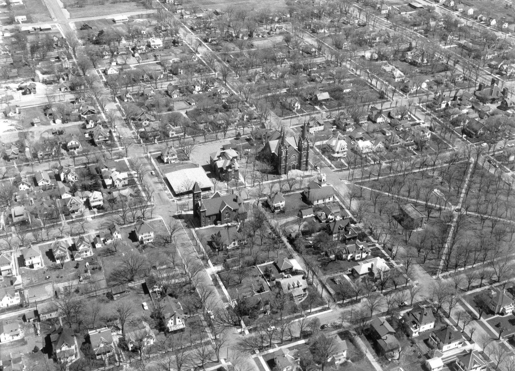 1958 St. Peter's Lutheran Church, center