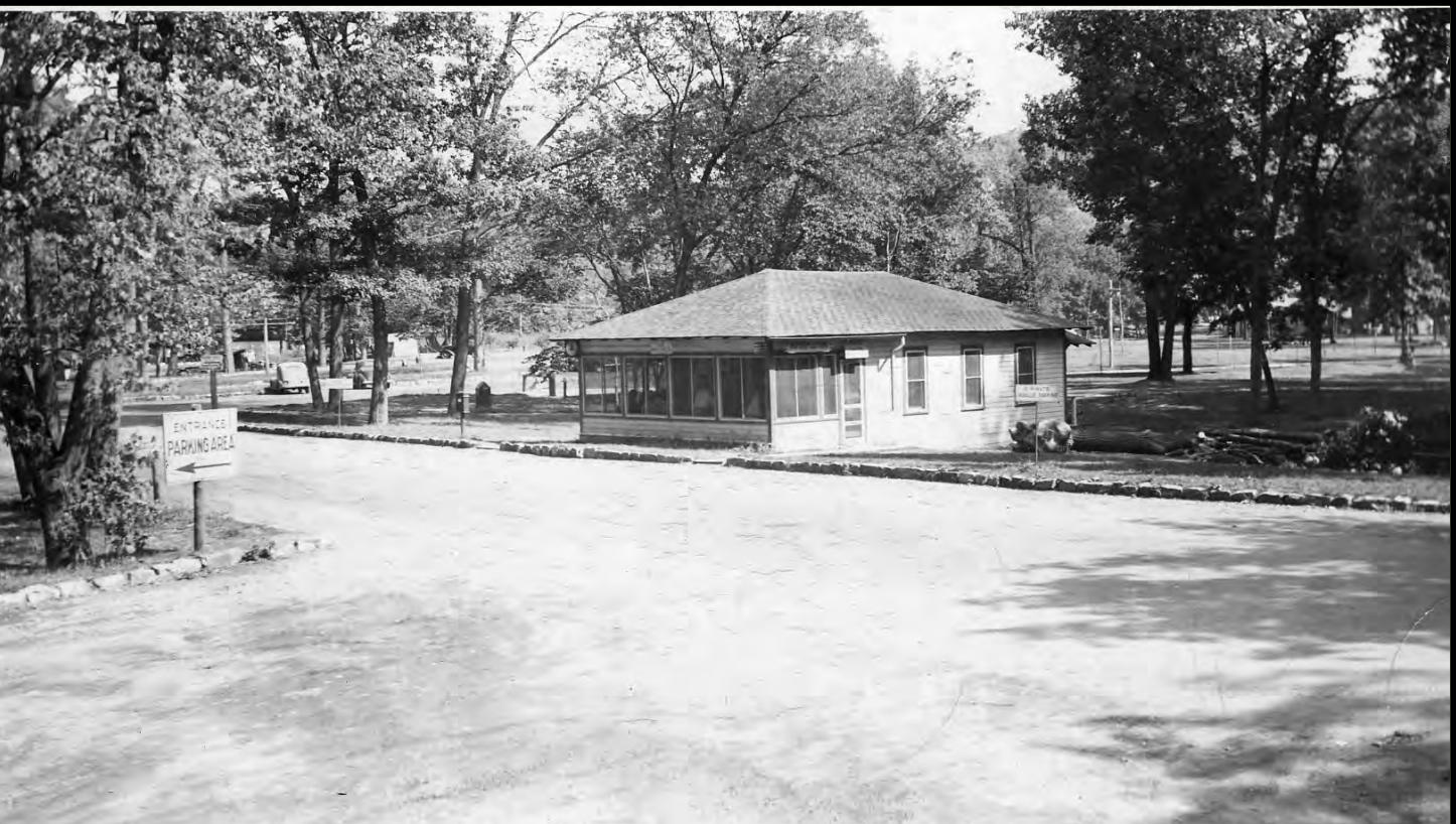 The old office as it looked in 1936