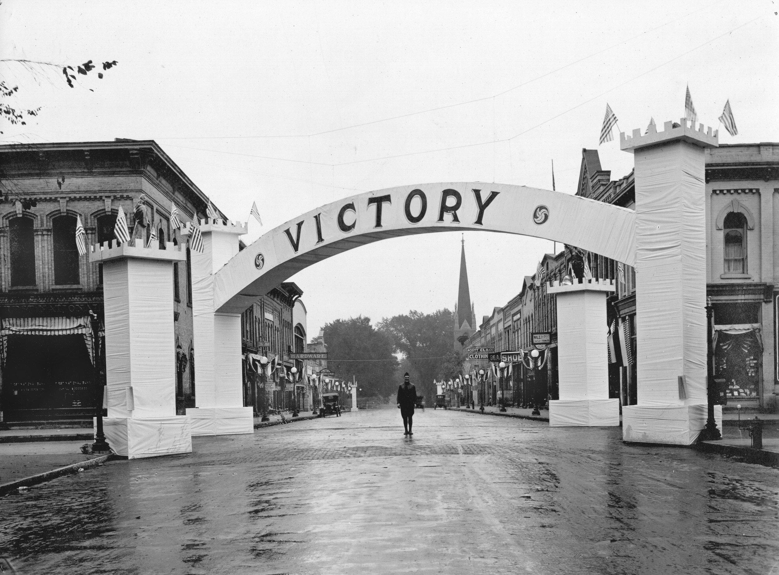 WWI Parade - Baraboo